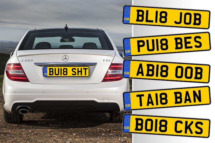 Enjoy your new car with a private number plate